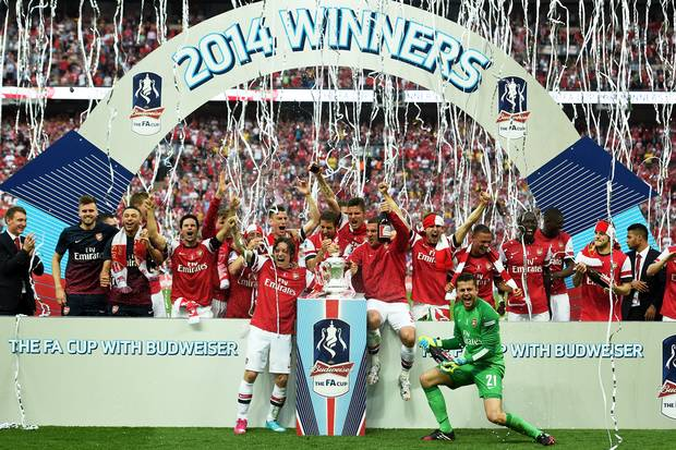 Arsenal did this in 2014. Can they push on for further silverware in 2014/15?